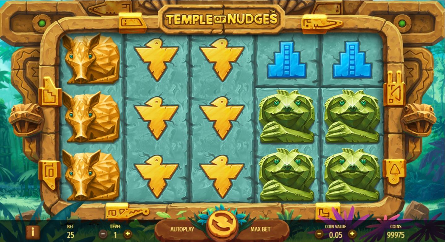 Канал temple of nudges храм игровой автомат